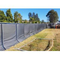 Best Sound Insulation Portable Noise Barriers 3' x 12' x 2pcs for 6'x12' temporary fence wholesale