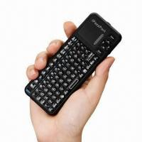 Best 2.4GHz Mini Wireless Keyboard with HD HTPC, Remote Operation, Supports Multi-touch and Laser Pointer  wholesale