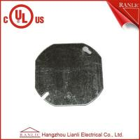 Best Octangular Electrical Metal Conduit Box Cover With Middle Hole 1/2 inch or 3/4 inch wholesale