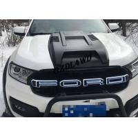 Best Everest 2015+ Front Grille With LED Lights Black Grille For Ford Everest Accessories wholesale
