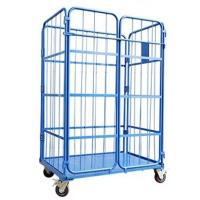 Best Heavy Duty Platform Logistics Trolley Stainless Steel 250 Kgs Per Layer wholesale