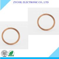 Cheap Self-Bonded Copper Wire Air Core Inductor Coil RoHs For Small Rfid Tag for sale