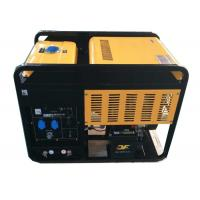 China 300A portable diesel generator welder 2 cylinder air cooled engine on sale
