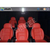 Best Comfortable red motion chair 7D movie theater of motion cinema equipment wholesale