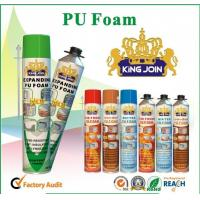 Cheap Manual PU Foam Sealant , Home Spray Foam Insulation For Bonding / Soundproofing for sale