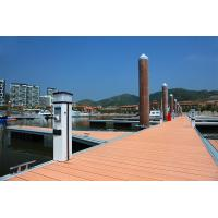 Buy cheap LakeAluminum Floating Docks Mildew Proof Teak Decking Cover Anchor Fixed from wholesalers