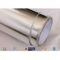 China Fire Resistant Waterproof Silver Aluminium Foil Fiberglass Laminate on sale