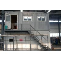 Best Flat Pack Steel Storage Container Houses , Waterproof Storage Containers wholesale