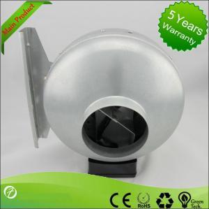 Best 125mm Ventilation In-line Metal Inline Fan Centrifugal Air Blower wholesale