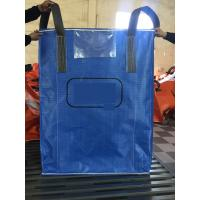 Best Blue Sift - Proofing  Big Bag FIBC PP Woven Circular Jumbo Bags With Square Bottom wholesale