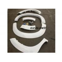 Cheap White Painted Hilux Vigo Fender Flares 4WD Accessories / Vigo Wheel Arch Trim for sale