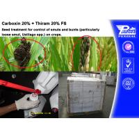 Best Carboxin 20% + Thiram 20% FS Pesticide Mixture Seed Treatment Cas 5234-68-4 wholesale