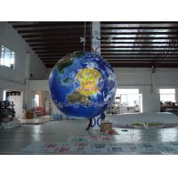 Best 1.5m Giant Full Digital Printed Earth Balloons Globe with Good Elastic for Sporting events wholesale