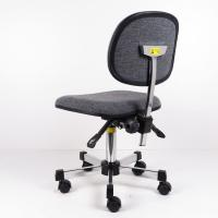 Cheap 3 Or 2 Levels Adjustment Gray Fabric Ergonomic ESD Chairs Lifting Chair With for sale