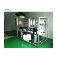 Best 3 Stage Reverse Osmosis Water Treatment System , Industrial Water Treatment Plant wholesale