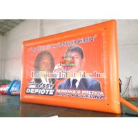 Best Display Billboard Inflatable Outdoor Projector Screen For Election Campaign wholesale