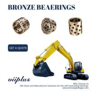 China Cast Bronze Sleeve Bushing Replacement Aluminum Bronze Self Lube Bearings on sale