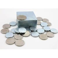Powerful Permanent Sintered Neodymium Magnets With Nickel Coating for machinery