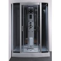 Best Tempered Glass Rectangle Steam Shower Tub Combo With Computer Controlled wholesale