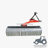 Buy cheap 6LR - Farm Implements Tractor 3point Mounted Landscape Raker 6FT from wholesalers