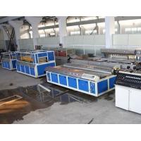 Best Double - Screw PVC Wood Plastic Board Production Line For Window Profile wholesale