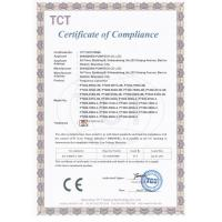 Shenzhen Powtech Co., Ltd. Certifications