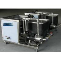 China Food Industry Clean Machine , Ultrasonic Cleaning Machine / Equipment High Cleanliness on sale