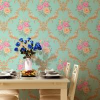 Best waterproof and fireproof cheap price PVC vinyl wall paper wholesale