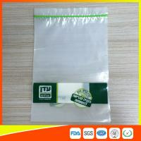 Best Disposable Biodegradable Zip Lock Packaging Bags For Household / Industrial Packing wholesale