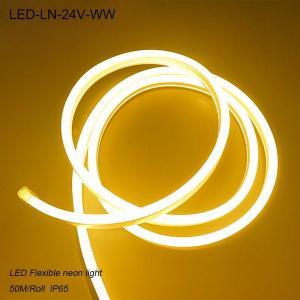 Best Outdoor LED light strip waterproof IP65 24V led flexible neon light wholesale
