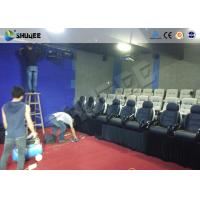 Best Multi Person Interactive 7D Movie Theater With Unique Interactive Shooting System wholesale