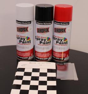 Best Aeropak Automotive Aerosol Spray Paint , Fast Dry Acrylic Spray Paint For Wood wholesale