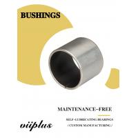 Best Stainless Steel Ptfe / Kevlar Fabric Lined Split 316 Composite Bearings Flanged Bushes wholesale