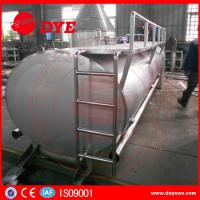 Best Farm Used 3000L Sus304 Milk Cooling Tank 500-10000L Manual ISO9001 wholesale