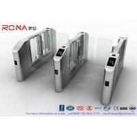 Best Vistor Management System Speed Gate Turnstile with Stainless Steel Used at Governmental Building wholesale