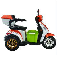 Best 3.00-10 / 3.00-10 Wheel Size Foldable Electric Scooter Front / Rear Full Charge Endurance wholesale