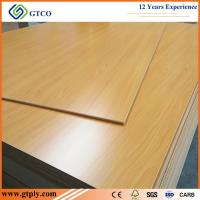 Buy cheap 1220X2440X18mm Black Walbut Melamine MDF Board For Kitchen Cabinets from wholesalers