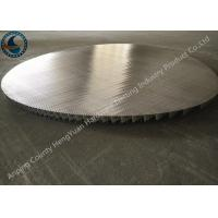 Best Stainless Steel Johnson Wire Screen Round Panel No Frame Strip Rod wholesale