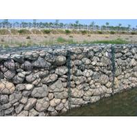 Buy cheap Galvanized and PVC coated Gabion Wire Mesh for River Protection from wholesalers