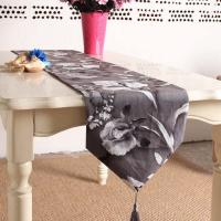 Best Chinese Style Table Runner Printed flowers polyester cotton Table Runner wholesale