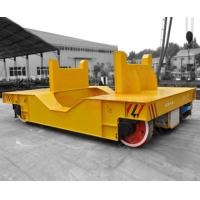 Best Anti - Explosion Flat Rail Transfer Trolley , Low Voltage Electric Transfer Cart wholesale