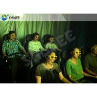 Best Movie Rides 5D Movie Theater 5D Cinema Equipment With Black / Red Chair wholesale