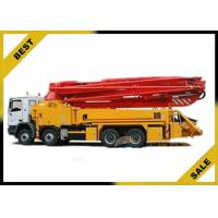 Best Mounted Dry Cement Boom Pump Manufacturer 37m Mini 247kw 29000kg wholesale