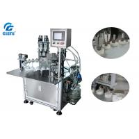 Best Two Nozzles Essential Oil Filling Machine 30 Bottles Per Minute , 3 Persons Operator wholesale