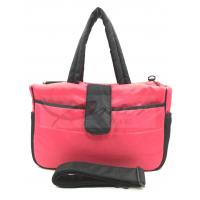 Best Pink Mummy Tote Diaper Bags For Traveling / Outdoor Activity 190T Polyester Lining wholesale