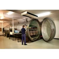 Best Brick / Food / Glass / Wood Autoclave High Pressure For AAC Plant , High Efficiency wholesale