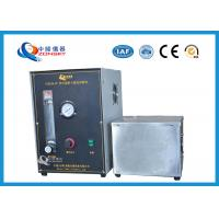 Cheap Micro Controlled Flame Test Equipment 820*820*1500 MM With Observation Window for sale