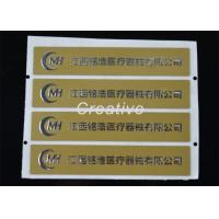 Best Heat - Resistant Adhesive 3D Domed Resin Labels With Embossed Text wholesale