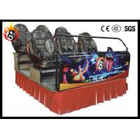 Best Electric 5 d movie theater with 6 Seats Luxury ABS plastic frame wholesale