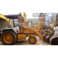 Best Euro 3 Used Backhoe Loader , Case 580L Backhoe Loader SGS Approved wholesale